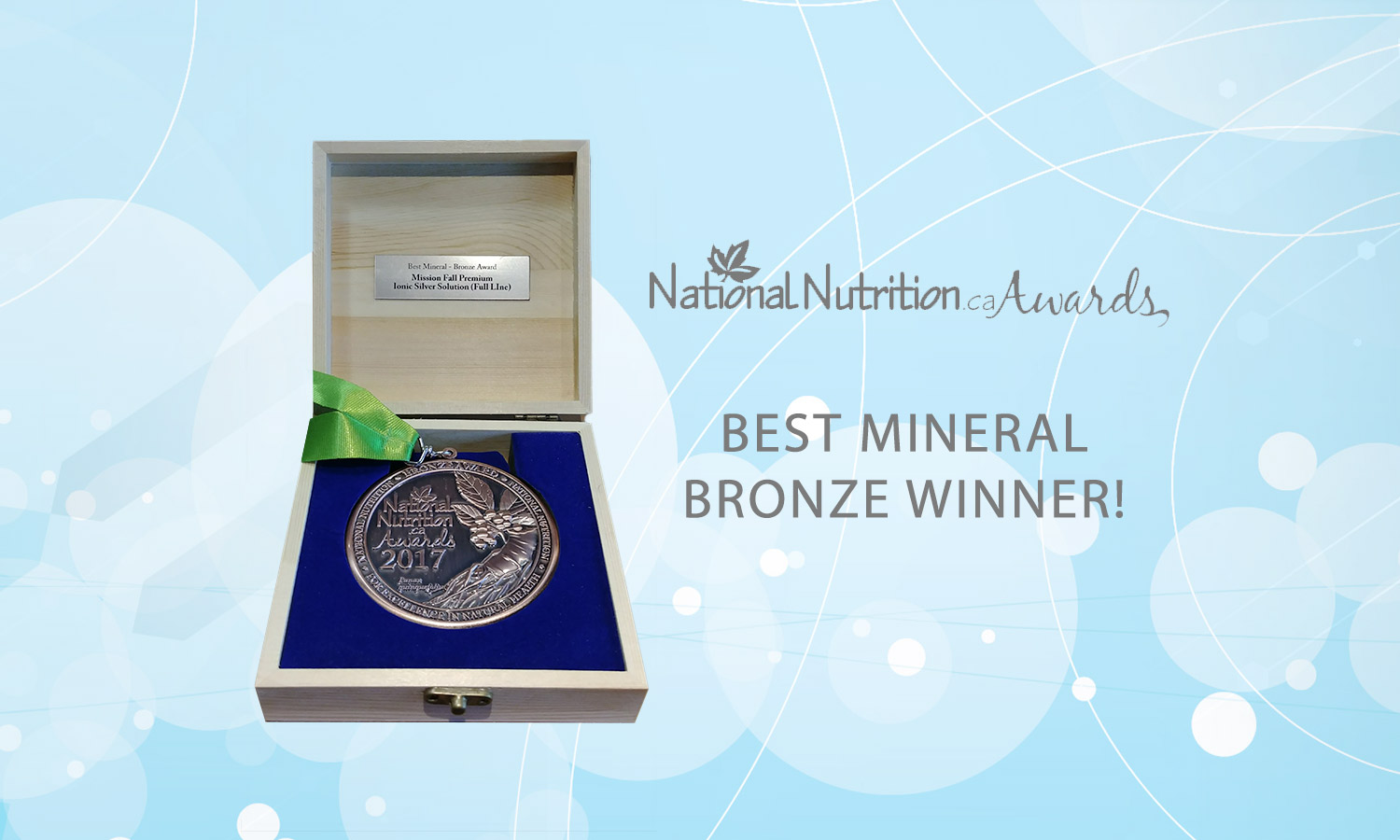 National Nutrition Award